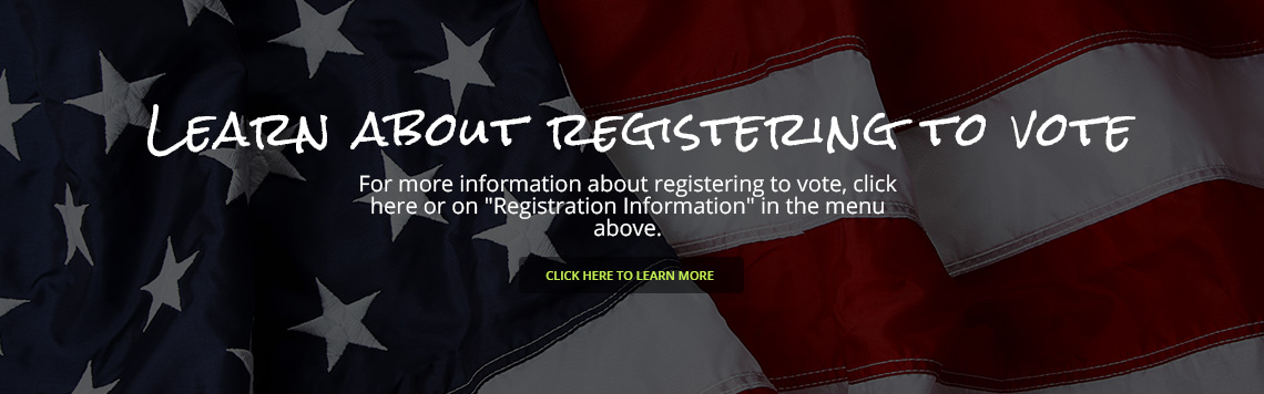 Learn About Registering to Vote