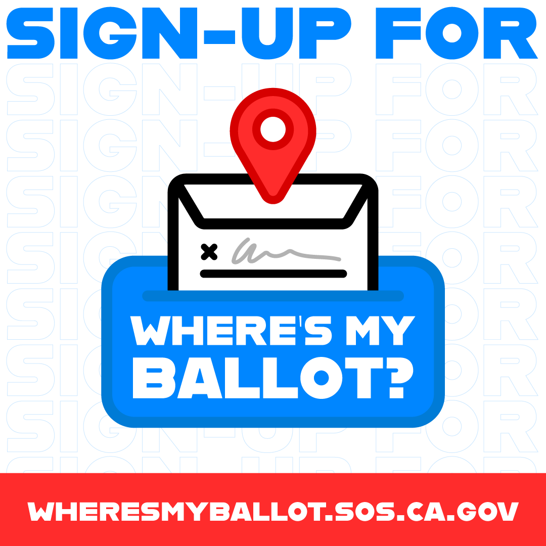Sign up for Where's my Ballot?